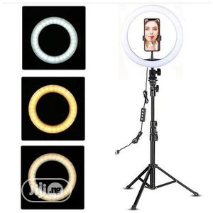 10inch Led Ring Light +160cm Long Tripod Stand | Accessories & Supplies for Electronics for sale in Lagos State, Ikeja