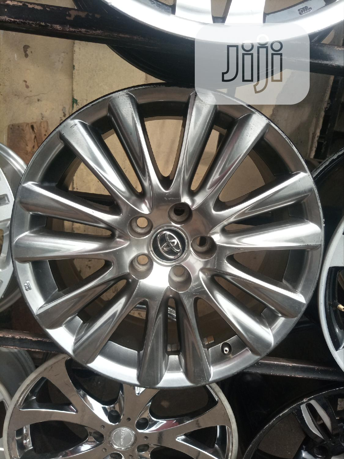 Size 18 Inches for Toyota Available