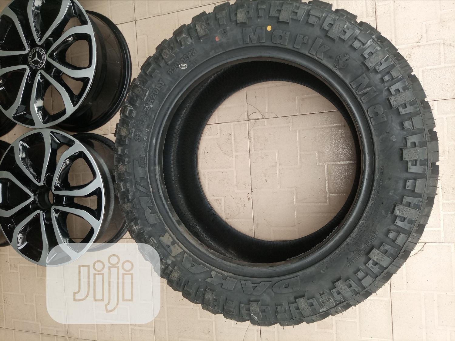 Size Offload Tyre33*12/50l 20 Inches Any Available Jeep's | Vehicle Parts & Accessories for sale in Mushin, Lagos State, Nigeria