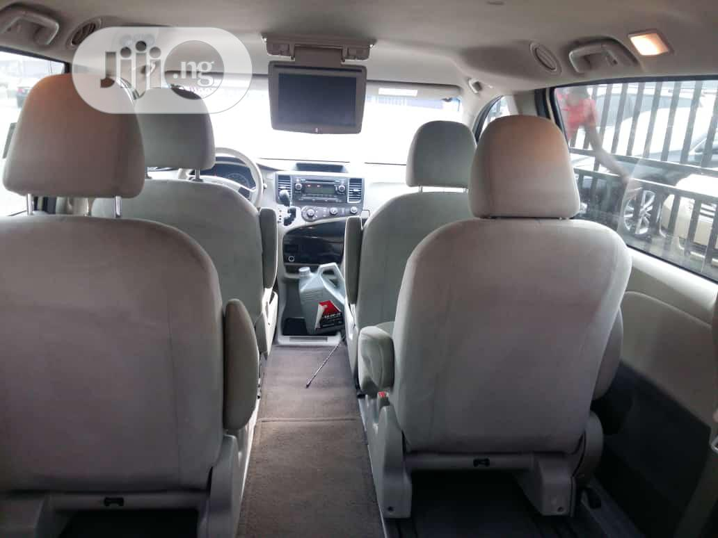 Toyota Sienna 2012 7 Passenger Gold | Cars for sale in Isolo, Lagos State, Nigeria