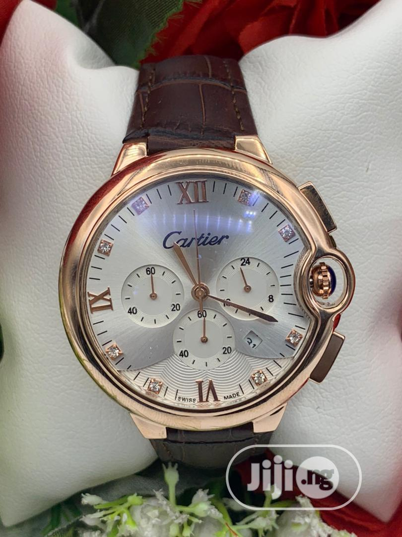 Archive: Cartier Leather Watches Collection
