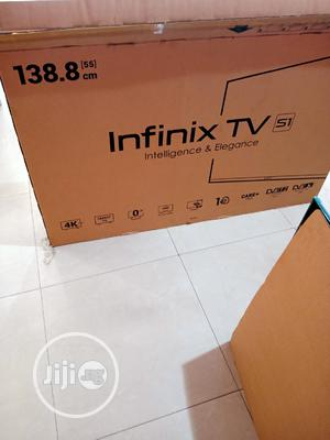 """Infinix 55"""" Smart Android Uhd 4k Tv With Air Mouse   TV & DVD Equipment for sale in Lagos State, Ajah"""