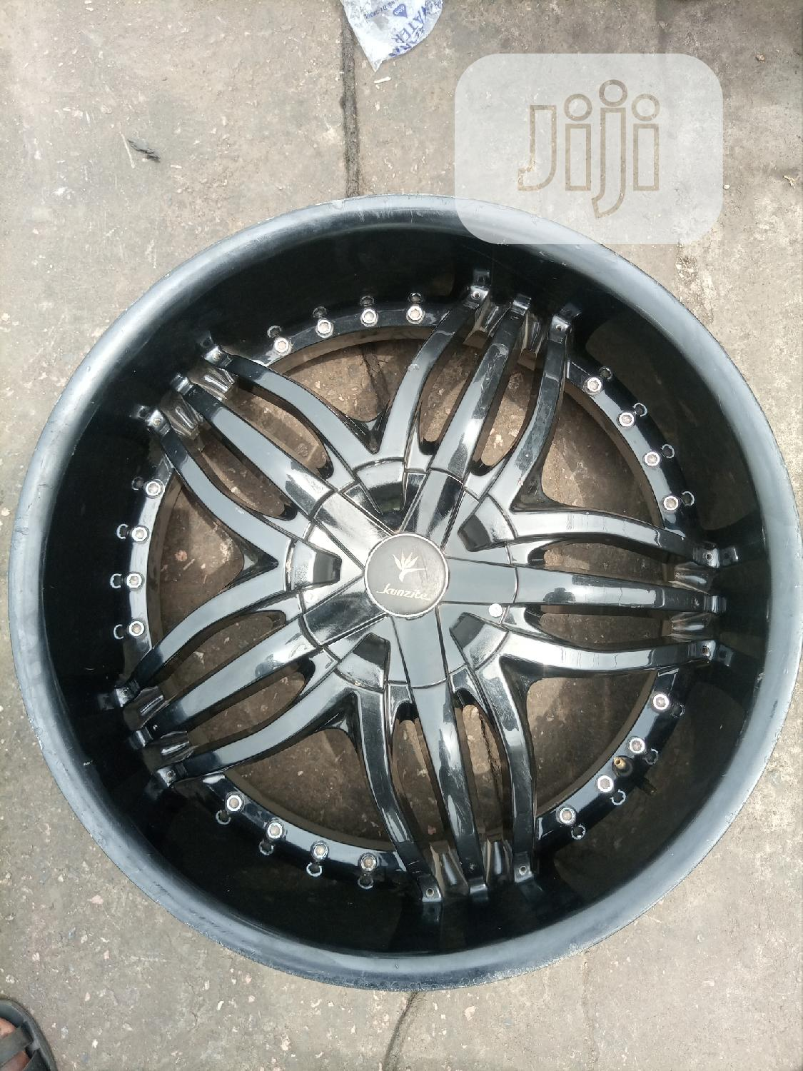 Size 22 Inches for Mercedes Benz Ml 350 or G Wagon Etc | Vehicle Parts & Accessories for sale in Mushin, Lagos State, Nigeria