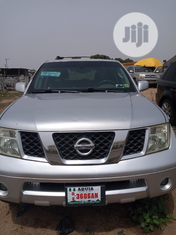Archive: Nissan Pathfinder 2005 Silver