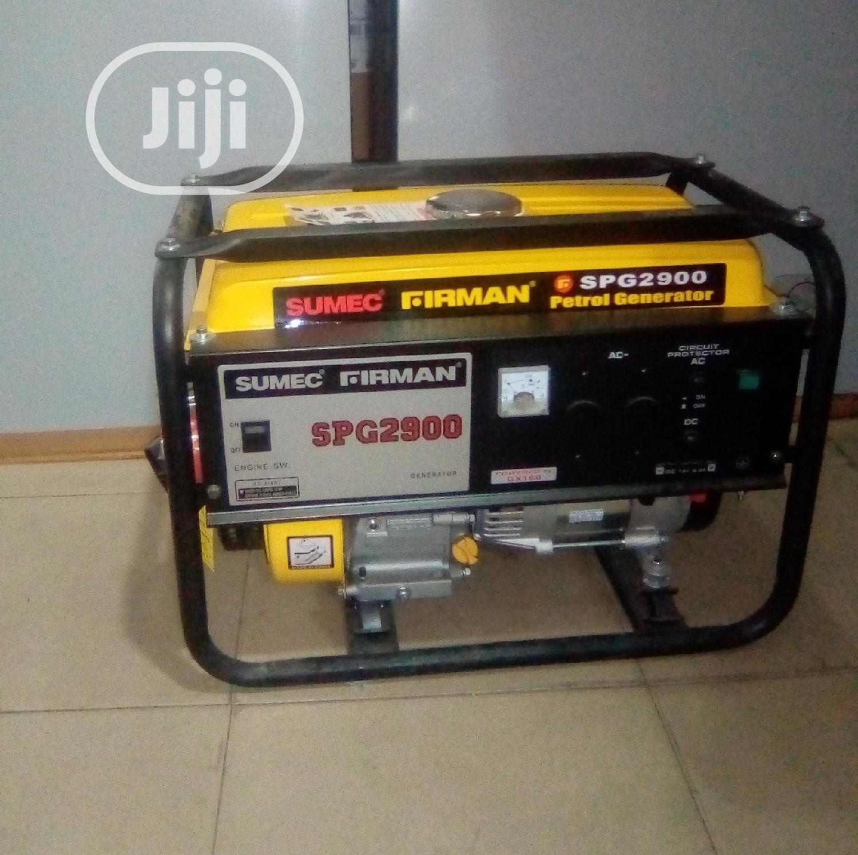 Firman SPG2900 Generator