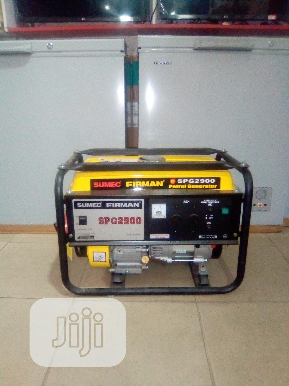 Firman SPG2900 Generator | Home Appliances for sale in Amuwo-Odofin, Lagos State, Nigeria