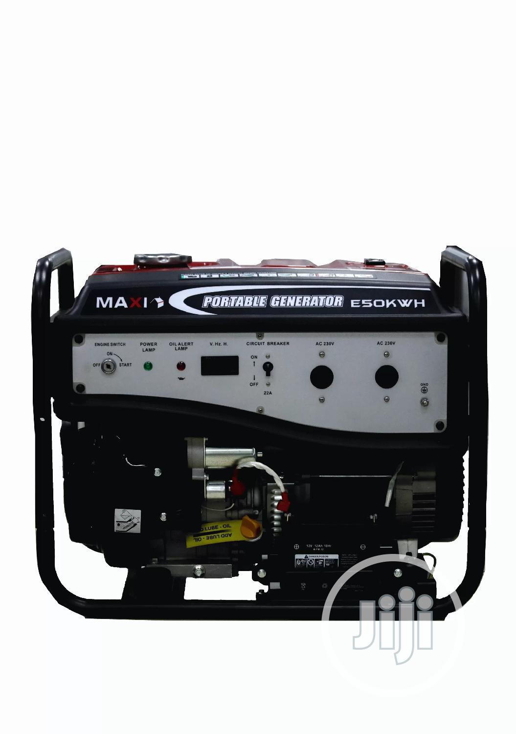 Quality Maxi Generator 6.2kva Pure 100% Copper Coil> Key