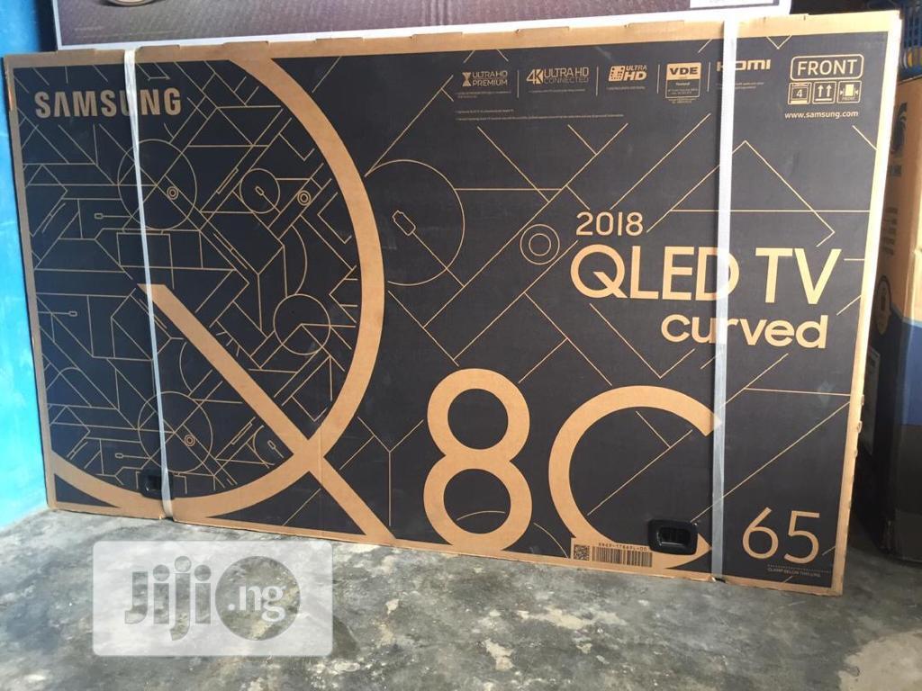 Samsung Television Qled Curve TV Qa65q8c