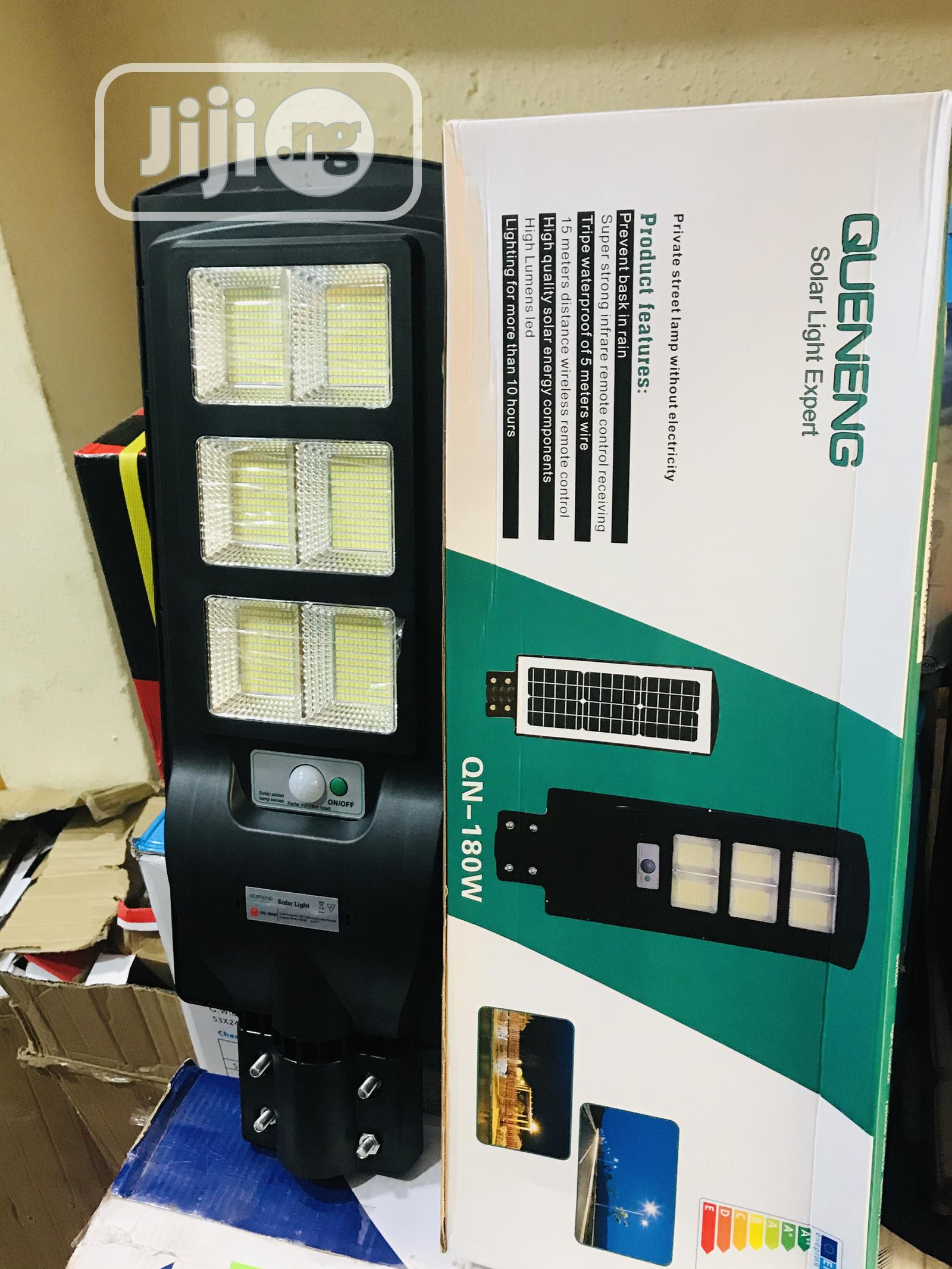 180watt All in One Solar Street Light With 2 Years Warranty | Solar Energy for sale in Central Business Dis, Abuja (FCT) State, Nigeria