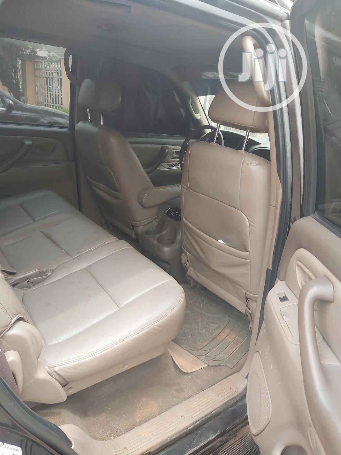 Toyota Sequoia 2004 Black | Cars for sale in Oshimili South, Delta State, Nigeria