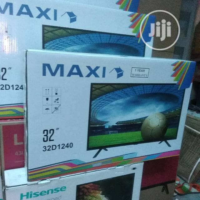 Brand New Maxi 32inche TV With HDMI AV USB and Hanger