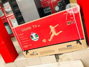 "Lg 75"" Smart 4k Tv   TV & DVD Equipment for sale in Lagos State, Ajah"