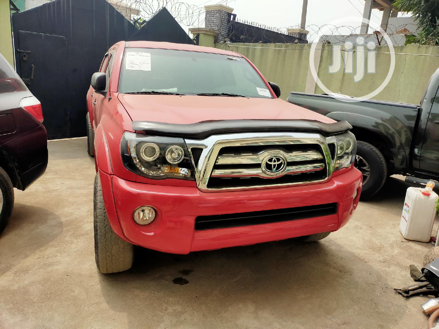 Toyota Tacoma 2007 PreRunner Access Red