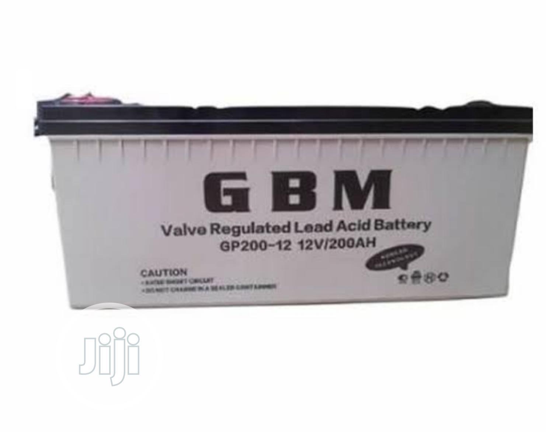 Solarkobo GBM 200AH 12V Deep Cycle Battery