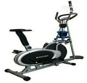 Orbitrac Bike With Dumbbells and Twister | Sports Equipment for sale in Lagos State, Surulere