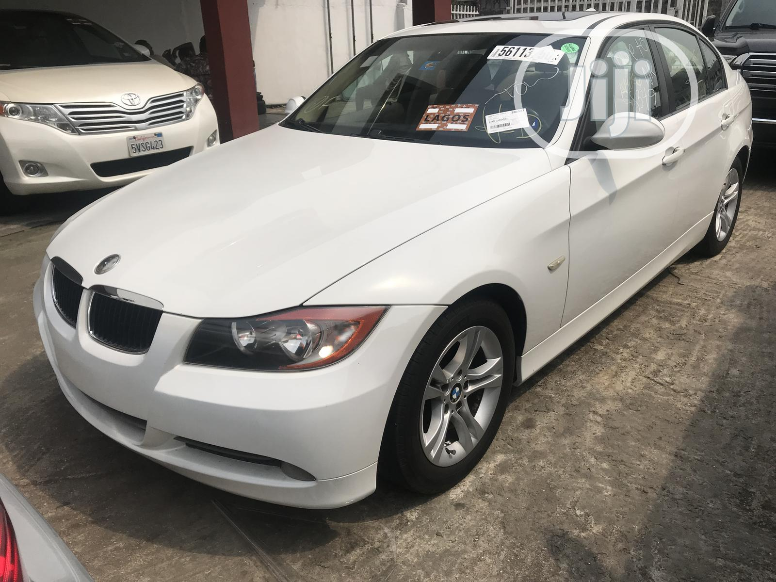 BMW 328i 2009 White | Cars for sale in Ikeja, Lagos State, Nigeria