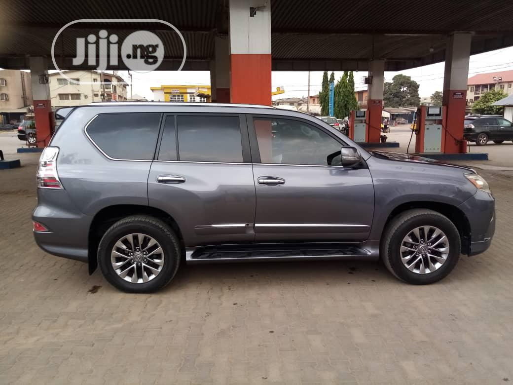 Lexus GX 2015 460 Luxury Blue   Cars for sale in Isolo, Lagos State, Nigeria