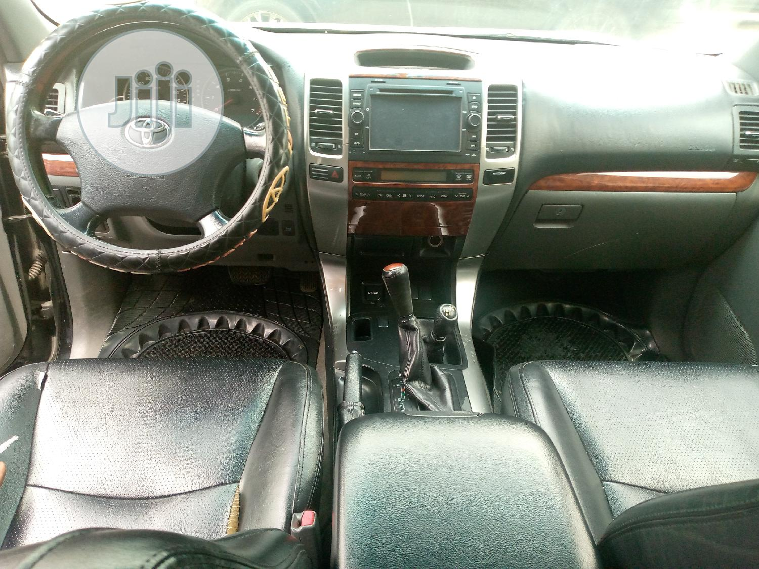 Toyota Land Cruiser Prado 2008 GX Black