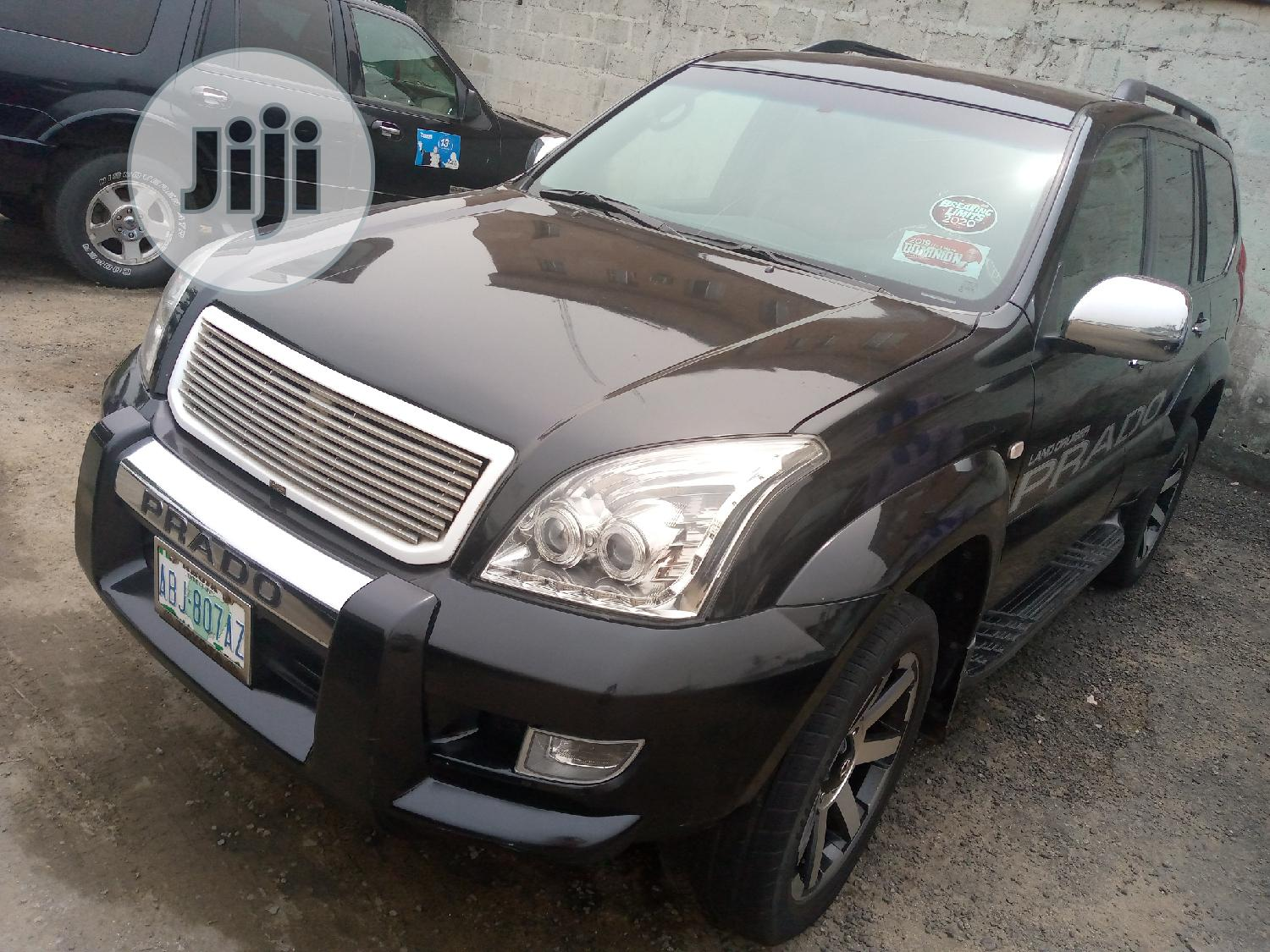 Toyota Land Cruiser Prado 2008 GX Black | Cars for sale in Port-Harcourt, Rivers State, Nigeria