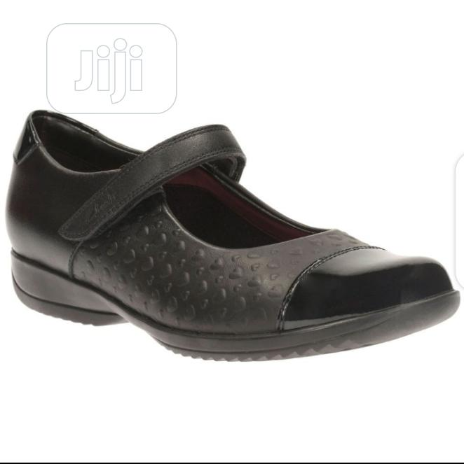 Clarks Black Girls School Shoes | Children's Shoes for sale in Ikoyi, Lagos State, Nigeria