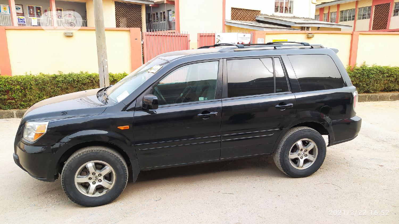 Honda Pilot 2006 EX-L 4x4 (3.5L 6cyl 5A) Black | Cars for sale in Ikeja, Lagos State, Nigeria