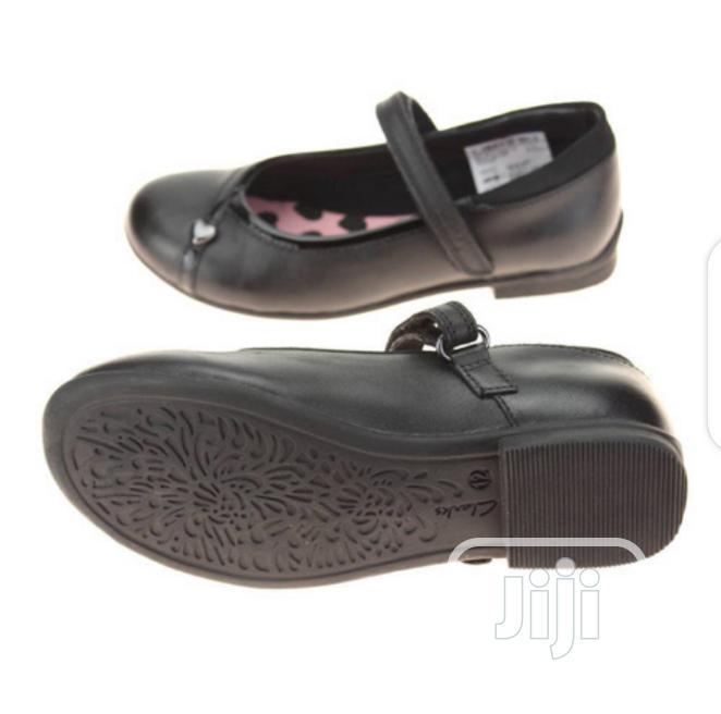 Clarks Black Girl School Shoes