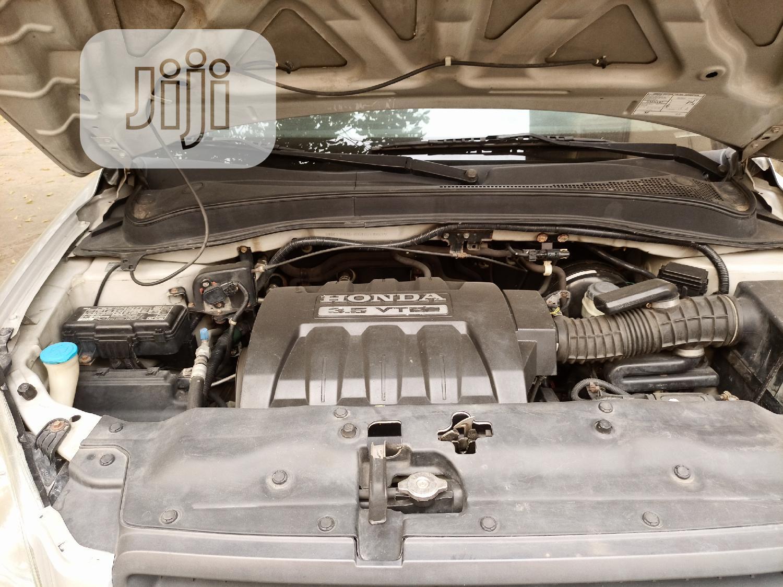 Honda Pilot 2005 EX-L 4x4 (3.5L 6cyl 5A) Silver   Cars for sale in Ojodu, Lagos State, Nigeria