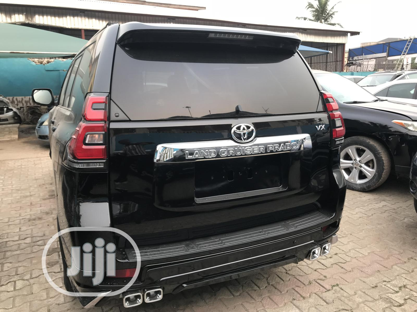 Toyota Land Cruiser Prado 2012 VX Black
