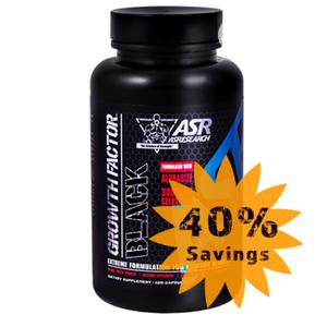 Original Asresearch Growth Factor Black Pre-Work | Vitamins & Supplements for sale in Lagos State, Ikoyi