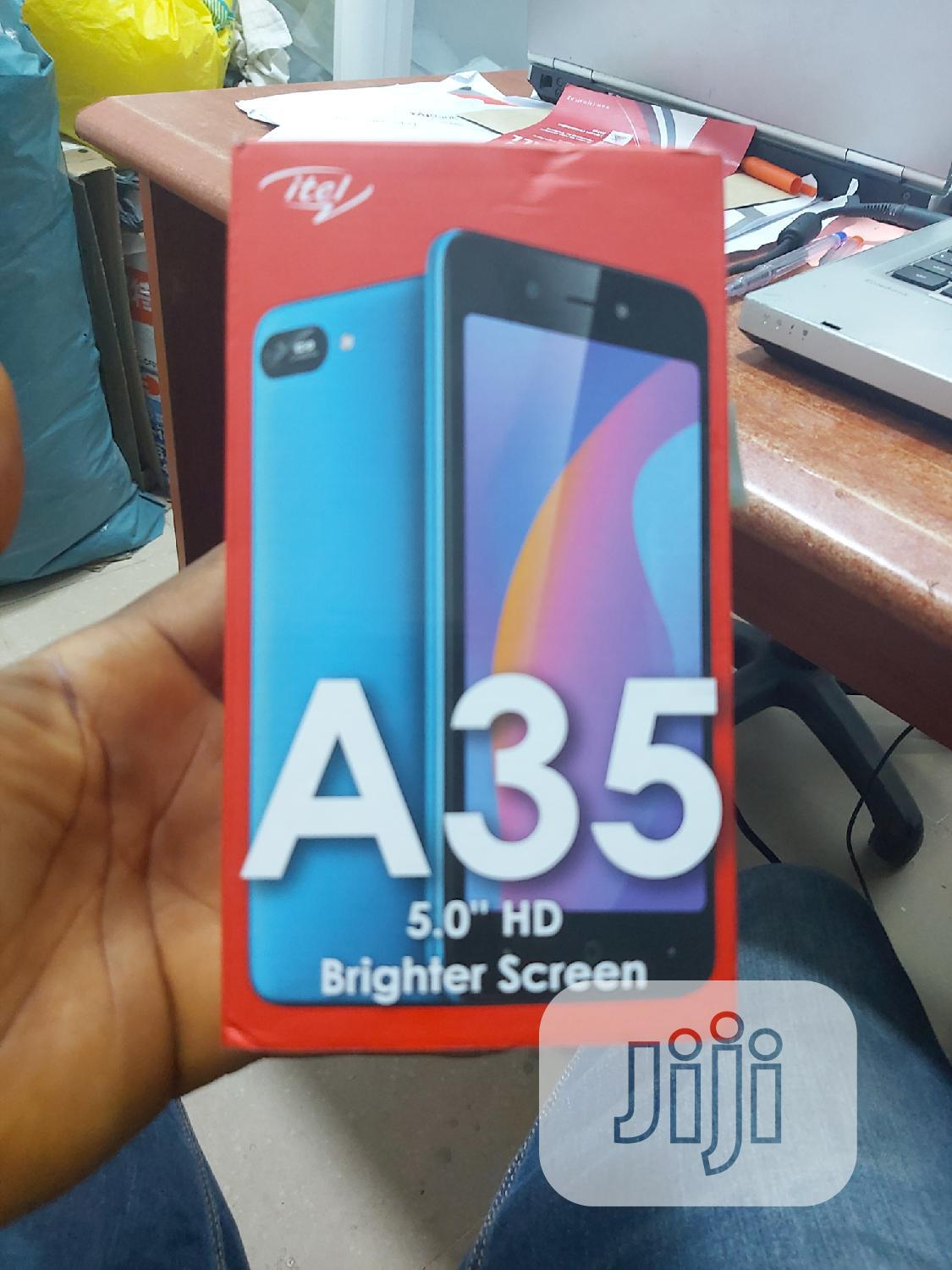 New Itel A36 16GB Black | Mobile Phones for sale in Ikeja, Lagos State, Nigeria