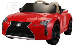 Licensed Lexus Vehicle With Remote Control WHITE AND RED   Toys for sale in Lagos State, Alimosho