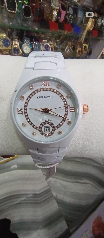 White Chain Watch