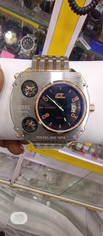 Diesel Stainless Chain Watch
