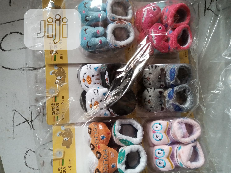 Baby Socks Booties | Children's Shoes for sale in Ifako-Ijaiye, Lagos State, Nigeria