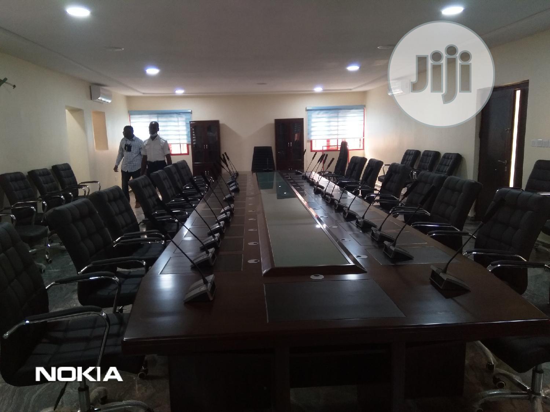 Original Professional Wireless Conference Mic Digital 4in1. | Audio & Music Equipment for sale in Ikeja, Lagos State, Nigeria