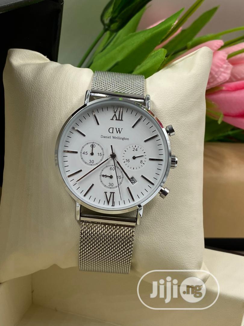 Daniel Wellington Watch With Working Chronograph