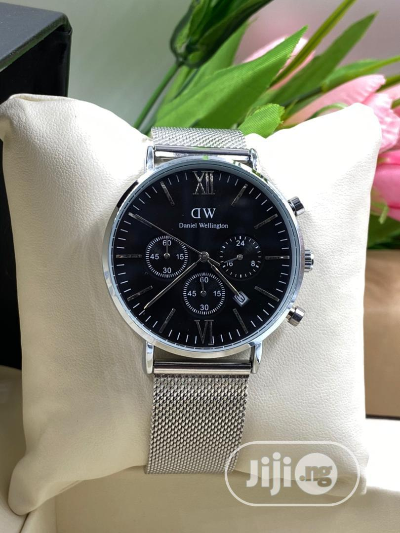 Daniel Wellington Watch With Working Chronograph | Watches for sale in Victoria Island, Lagos State, Nigeria