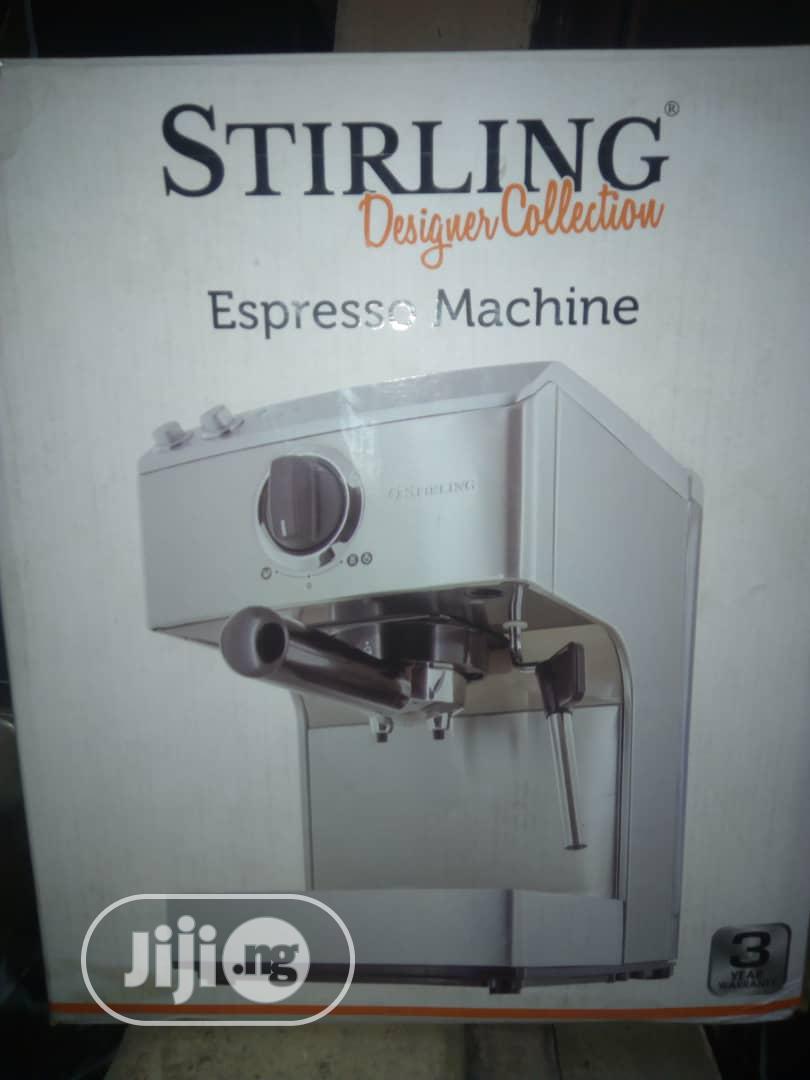 Sterling Espresso Coffee Maker Machine