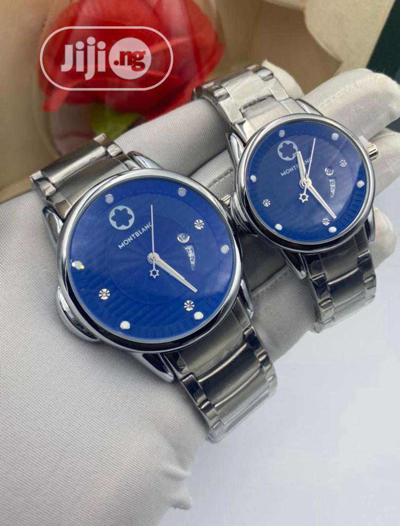 Montblanc Couple Watches   Watches for sale in Gwarinpa, Abuja (FCT) State, Nigeria