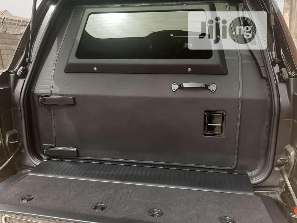 Toyota Land Cruiser 2020 5.7 V8 VXR Black   Cars for sale in Central Business Dis, Abuja (FCT) State, Nigeria
