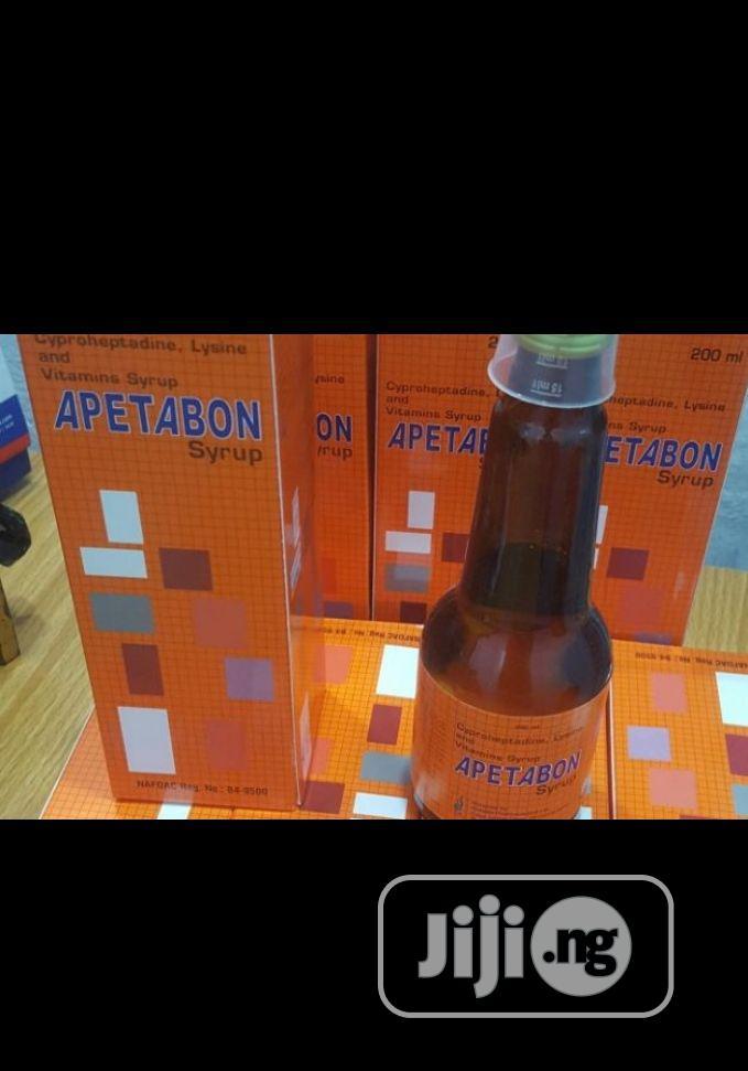 Apetabon Weight Gain Syrup 200ml Improved Apetamin Available