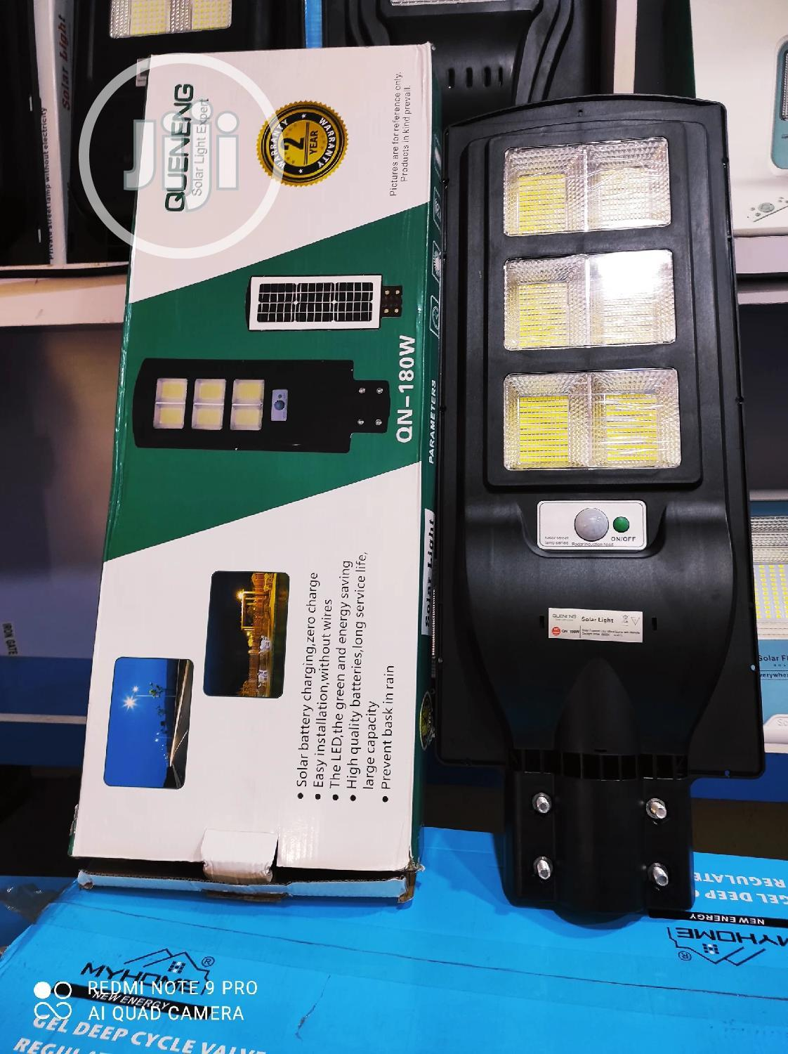 180W All in One Solar Street Light With 2 Years Warranty