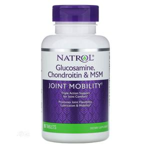 Natrol Glucosamine, Chondroitin MSM - Joint Knee Mobility | Vitamins & Supplements for sale in Lagos State, Ojo