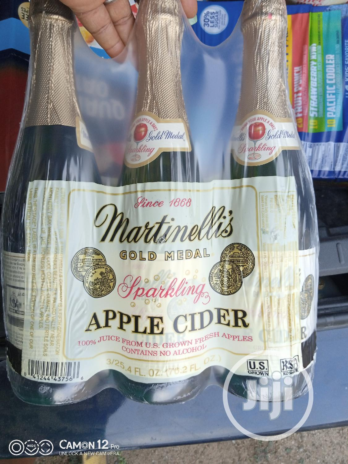 Archive: Martinellis Sparkling Apple Cider Wine