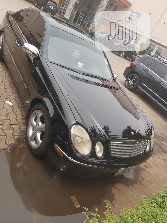 Mercedes-Benz E350 2007 Black