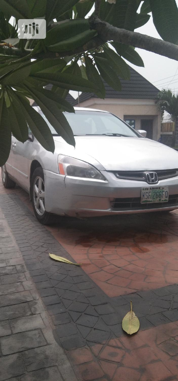 Archive: Honda Accord 2005 2.4 Type S Automatic Silver