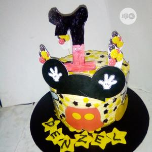 Nutritious Chocolate Vanilla Mickey Mouse Birthday for Baby   Meals & Drinks for sale in Lagos State, Ikeja