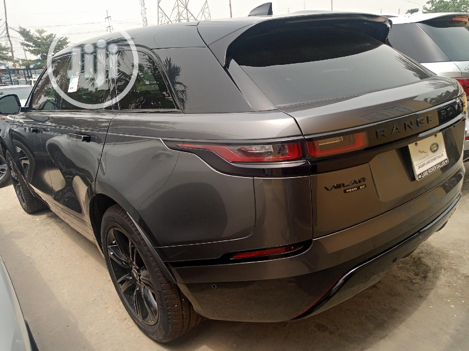 Land Rover Range Rover Velar 2018 P250 SE R-Dynamic 4x4 Gray | Cars for sale in Ajah, Lagos State, Nigeria