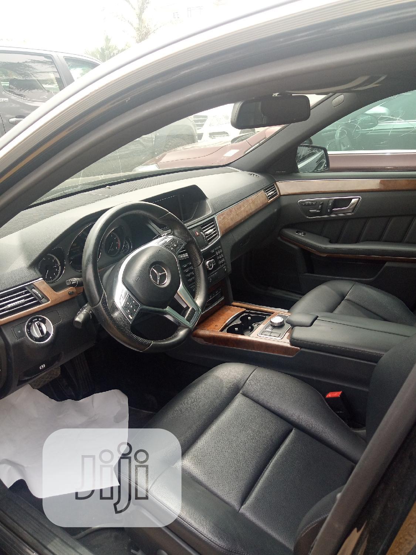 Mercedes-Benz E350 2013 Black | Cars for sale in Ajah, Lagos State, Nigeria