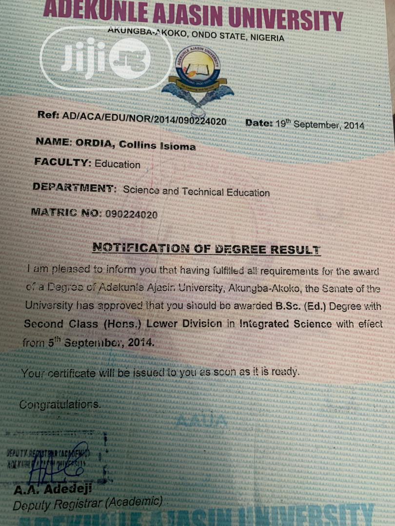 Teaching CV   Teaching CVs for sale in Ikeja, Lagos State, Nigeria
